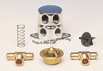 chevy / olds thermostat kit - aluminumcurrently out of stock