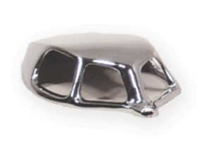 Chrome Zimac Vent Cowlnot Currently Available Automotive