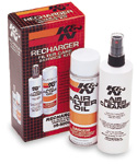 K&N Air Filter Cleaning Products